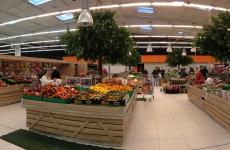 Triangle mobilier fruits & légumes Leclerc
