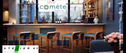 Atelier 41 agencement hôtel Comète