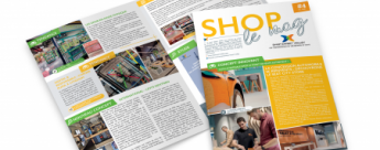 Shop le mag, l'actualité des points de vente par Shop Expert Valley