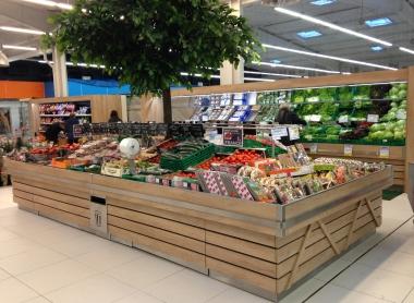 Les fruits et l gumes par triangle mobilier shop expert valley - Meuble legume ...